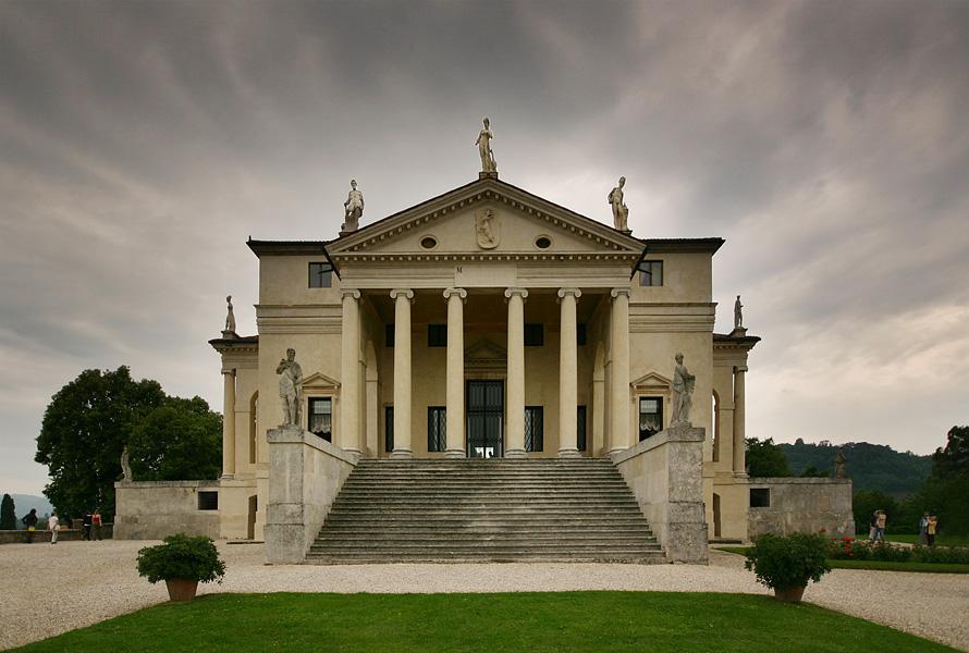 Une villa palladienne en Italie